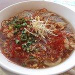 丘珠キッチン - 丘珠拉麺;やっぱコレ好きッ!あんかけ熱アツっ!(o^-')b @2018/02/17