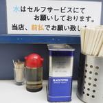甲子家 - 胡椒、酢、箸