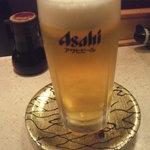 回転寿司 すし松 - 生ジョッキ