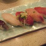 回転寿司 すし松 - 日替わり五貫盛りセット