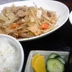 8115899 - 野菜炒め定食(\650)