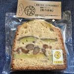 雑穀焼菓子 粉乃音 - 料理写真:これが一番人気の「粉乃音焼」♫
