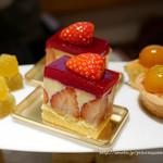 お茶とお菓子まやんち - 柑橘のアフタヌーンティー