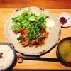 照蔵 - 料理写真:やわらかい豚肉の生姜焼き定食 750円 ご飯、味噌汁、漬物