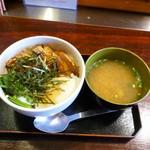 和カフェ 茶囲家 - 料理写真:角煮丼