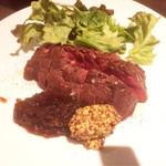 BARGANCHAN - ◆2種のソースで食べる牛ハラミステーキ