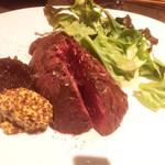 81152709 - ◆2種のソースで食べる牛ハラミステーキ