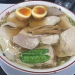 81154394 - チャーシューモモ肉そば煮卵入 大 1,144円