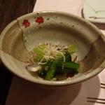 鷹勝 - ◆青菜のお浸し・・優しい味わい。