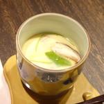 鷹勝 - ◆茶碗蒸し・・味わいはいいですが「鶏肉」が多くて。(^^;)