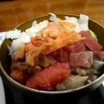 魚のあんよ - 海鮮丼作ってみた!