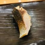 すし京辰 - しめ鯖の炙り