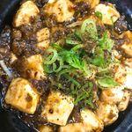 81155716 - セットの麻婆豆腐丼