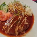 武田屋 - 煮込みハンバーグ