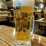 九州 熱中屋 - 生ビール(299円外税)