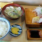 かわじろ - 料理写真:お造り定食
