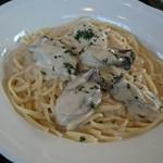 パッソアパッソ - サムライオイスターの牡蠣のクリームパスタ