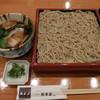 明月庵 ぎんざ 田中屋 - 料理写真:牡蠣つけ蕎麦
