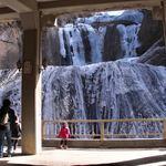 永福 - 【おまけ】真近で見る、迫力の袋田の滝