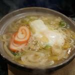 糸庄 - 鍋焼きうどん
