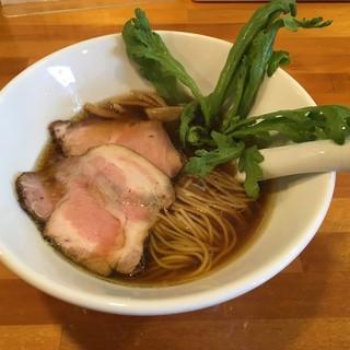 極汁美麺 umami - 料理写真:醤油らーめん〜(^.ー^)/¥780円