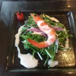 チャイニーズキッチン粤香 - 料理写真:海老のサラダ