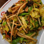 梅江飯店 - 肉野菜アップ