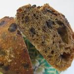 グッドモーニングベーカリー - 生地にコーヒーを混ぜチョコチップを練りこんで焼き上げたパンです。