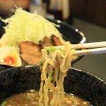 新月 - 料理写真:つけ麺