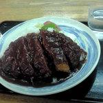 越後川口SA上り線スナックコーナー - 洋風カツ丼