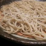 手打ちそば天ぷら 那央人 - 二八蕎麦   えびす天ざる1500円