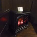 宮の森珈琲 - 暖炉