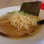 中華そば スパンキー - 麺アップ