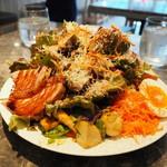 Baruavamparutaje - ワンドリンク付たっぷり野菜のワンプレートランチ1500円