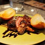 Baruavamparutaje - ハンガリー産鴨胸肉のロースト2,000円