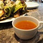 Baruavamparutaje - セットのスープ
