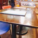 ニック&レネイ - テーブル席はこんな感じ