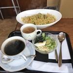 カフェ・カルディー - ドライカレー。 税込780円。 美味し。