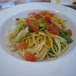 8118712 - キャベツとアンチョビ、カラスミのスパゲティ