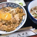 浅田屋 - 親子丼とミニうどん