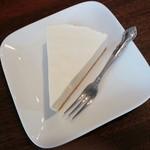 ジャズカフェ トッシー - レアチーズケーキ 330円