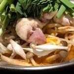 炎丸 - モツ鍋