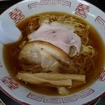 長尾中華そば - あっさり(ちぢれ麺)600円