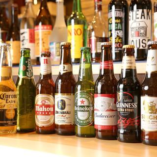世界のビールが味わえる!!!!