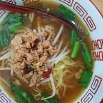 台湾料理 百盛 - 料理写真:ランチに付いてる台湾ラーメン(醤油)