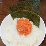 81184357 - 韓国風明太子ご飯