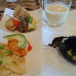 カンパネ食堂 - 前菜盛り合わせ