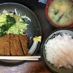 とんかつ丸福 - トンカツ定食
