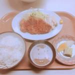 81184654 - 日替定食トンカツ(790円)【平成30年1月19日撮影】