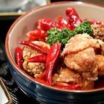 唐辛子をきかせた鶏辛揚げ(6ヶ)